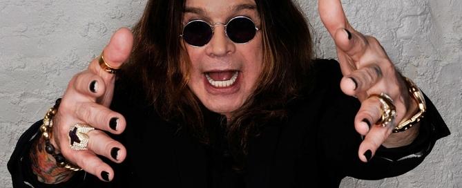 Assista com exclusividade ao recado que o vocalista Ozzy Osbourne gravou para os fãs curitibanos