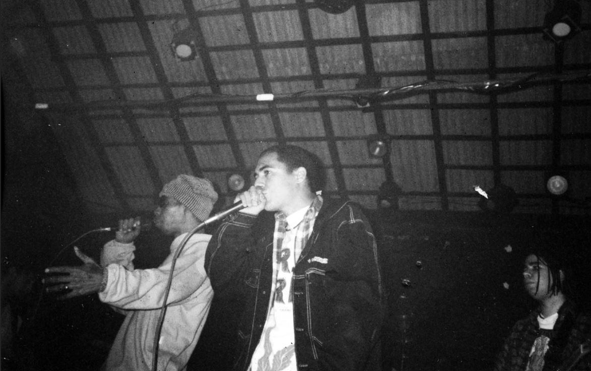 Planet Hemp 25 - Skunk e D2 no primeiro show do Planet - 24 de julho de 1993 (2)